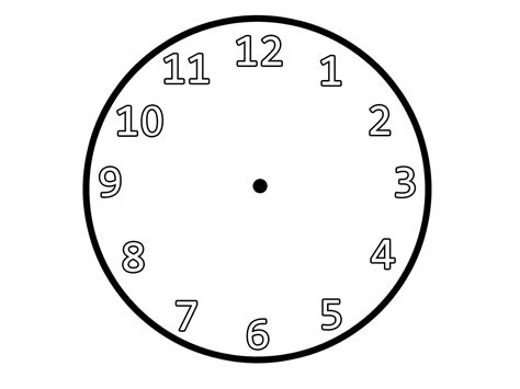 Clock Faces Without Worksheet