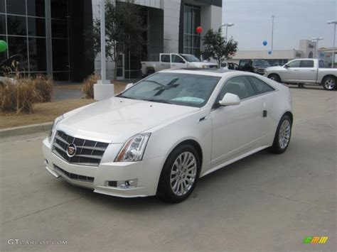White Cadillac Cts by 2011 Cadillac Cts Coupe White 2011 White Tricoat