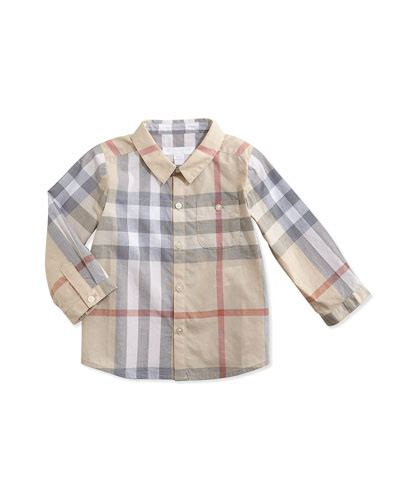 Pw Baby Boy Burberry Burberry Baby Boy Clothes Polo Shirts Swim Trunks At