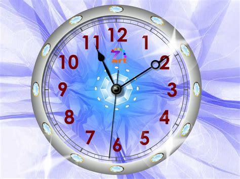 wallpaper free clock crystal clock screensaver makes time work wonders