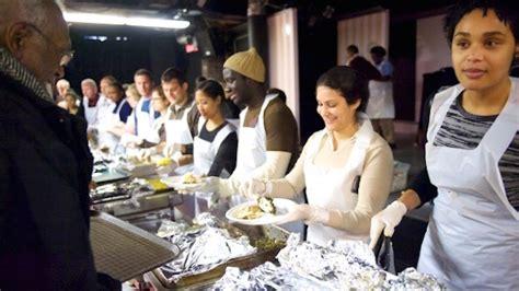 Soup Kitchen New York City by Bmcc News Giving Back