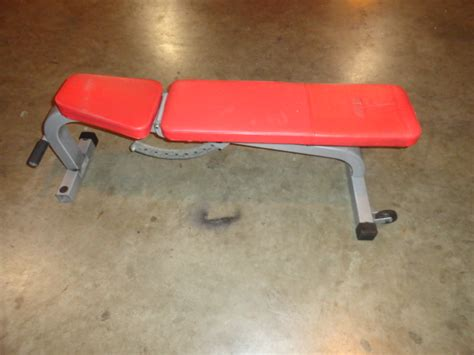 cybex decline bench midwest used fitness equipment cybex adjustable bench