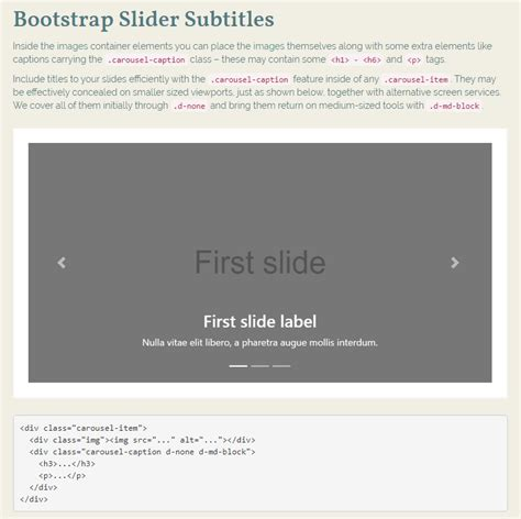 templates bootstrap slide 50 creative and beautiful bootstrap slider sles 2018