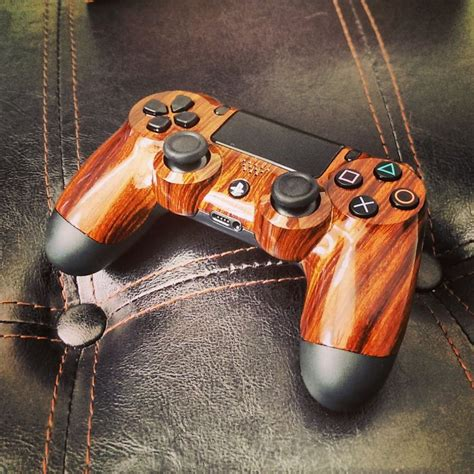 design games ps4 custom wood grain ps4 controller via redidt user krazeedd