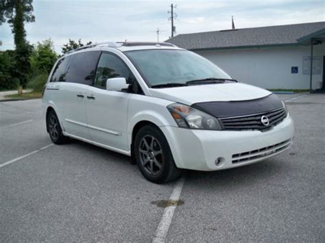 nissan quest sunroof buy used 2007 nissan quest se v6 leather nav pano sunroof