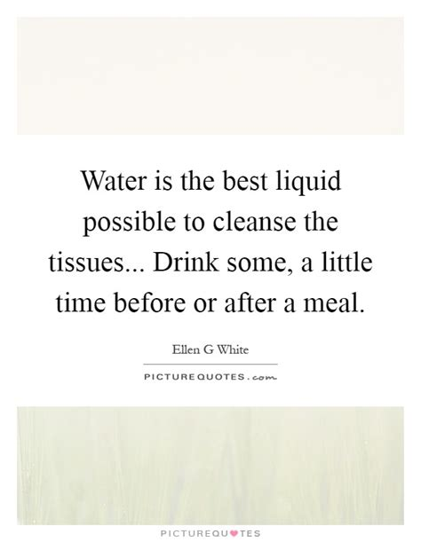 When Is The Best Time To Drink Detox Water by Water Is The Best Liquid Possible To Cleanse The Tissues