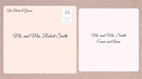 How To Address Wedding Invitations Southern Living Mr And Mrs Smith Save The Date Template
