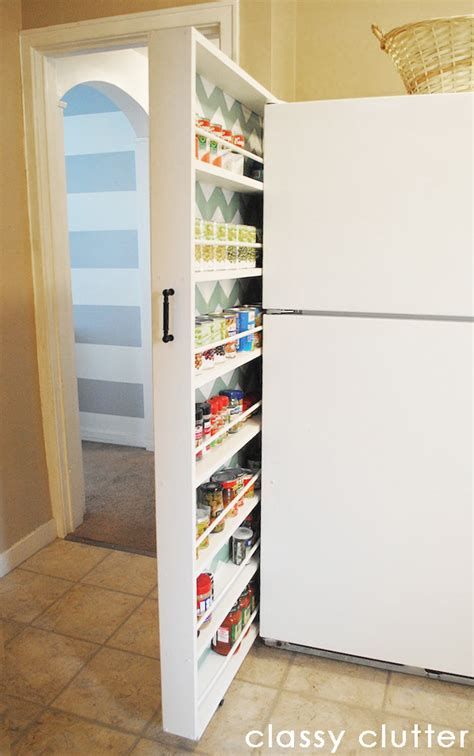 Diy Slide Out Pantry by Diy Canned Food Organizer Tutorial