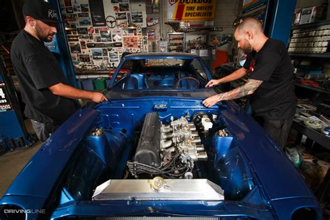 garage built jdm legends drivingline