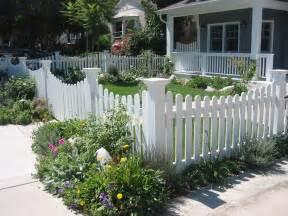 Front yard fence landscape craftsman with corner fence craftsman fence
