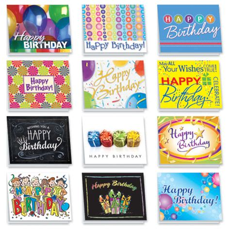 Assorted Birthday Cards For Employees Birthday Card Popular Assorted Birthday Cards Assorted