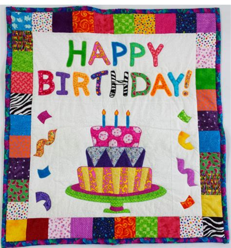 Birthday Quilt Pattern by Barbmi Has A Birthday Jan 12 Cfires1 71183 1
