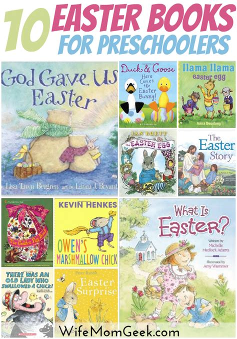 books for 10 exciting easter books for preschoolers