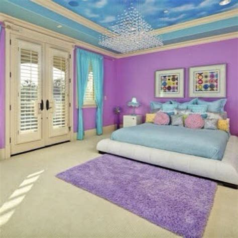 Roomsforeva Purple And Blue Bedroom Requested Blue And Purple Bedroom