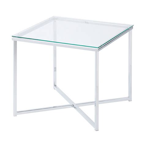square glass end table x square glass side table buy glass end tables living