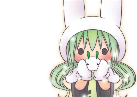 Hatsune Miku 20 wallpaper hatsune miku bunny randomness thing