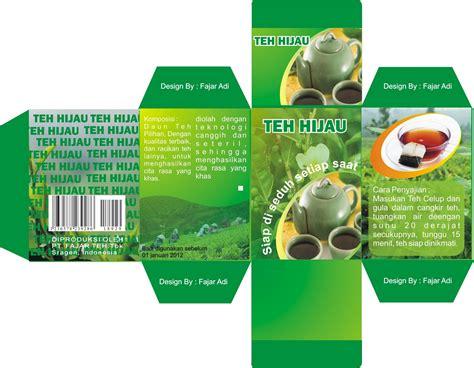 Sabun Herbal Zweena Teh Hijau simpel desain kemasan