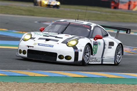 Le Man Porsche by Porsche Manthey Drivers Including Patrick Dempsey Ready