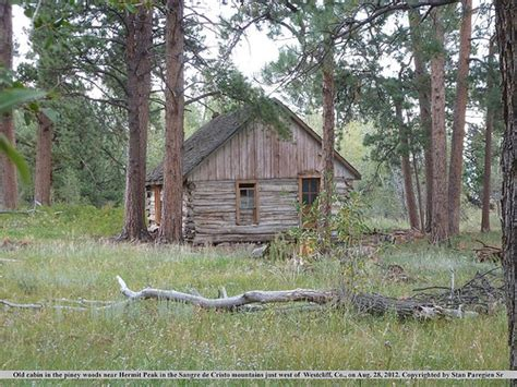 Cabin In The Woods Colorado by Cabin In The Woods Near Hermit Peak In The Sangre De