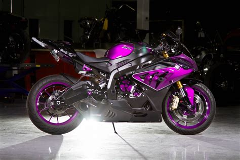 R Rr Custom Custom Paint Bmw S1000rr Looks Painfully Awesome