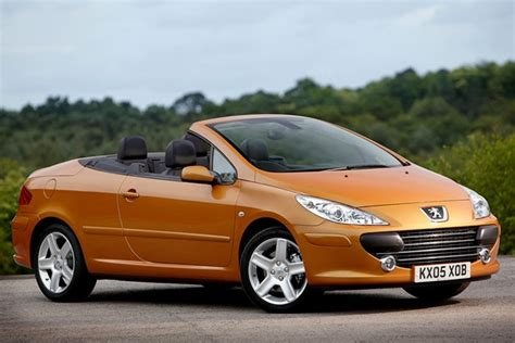 used peugeot prices peugeot 307 coup 233 cabriolet from 2003 used prices parkers
