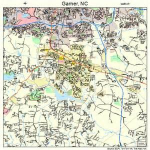 garner carolina map 3725480