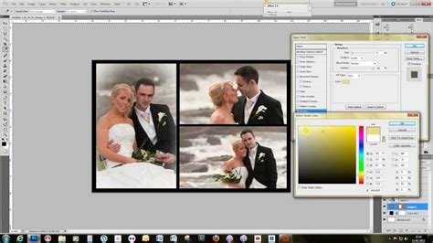 how to make a template in photoshop make a storybook wedding page template using adobe