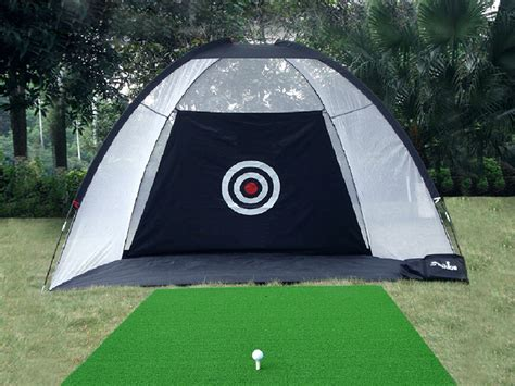golf practice trainning net hitting cage indoor outdoor