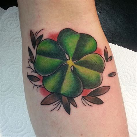70 best four leaf clover tattoo ideas and designs lucky