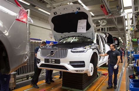 volvo sweden website volvo picks south carolina for us plant