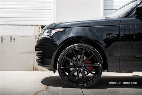 black land rover with black rims range rover wheels