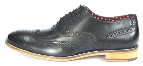 Formal Boots 168 431 brogues mens leather lace up wingtip formal gatsby evening brogue shoes ebay