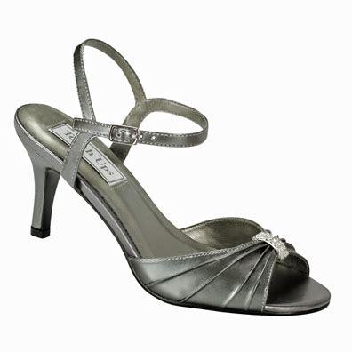 aspen mid heel pewter metallic evening shoes