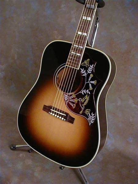how much is a gibson hummingbird guitar worth ehow