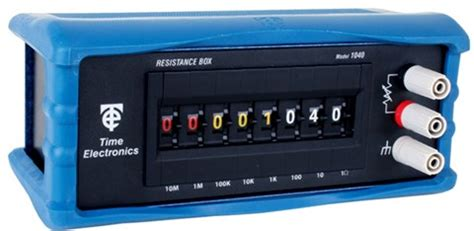 decade resistance box time electronics time electronics 1040 decade box decade boxes instrumart
