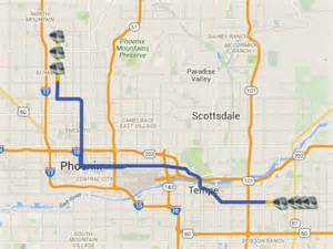 arizona light rail map light rail extension opens on march 19 three new