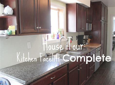 kitchen facelift ideas kitchen astonishing kitchen face lift with house tour
