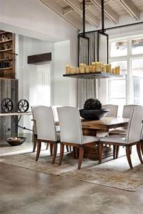 Rustic Modern Dining Room Rustic Home With Modern Design And Luxury Accents