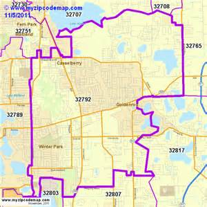 central florida zip code map free zip code map of 32792 demographic profile residential