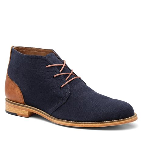 mens blue boots handmade navy blue suede chukka boots mens fashion