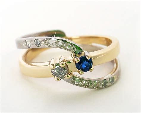 fashionable mother s birthstone ring ambrosia