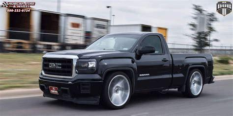 Truck Bed Racks Gmc Sierra 1500 Dub Swerv S129 Wheels Chrome