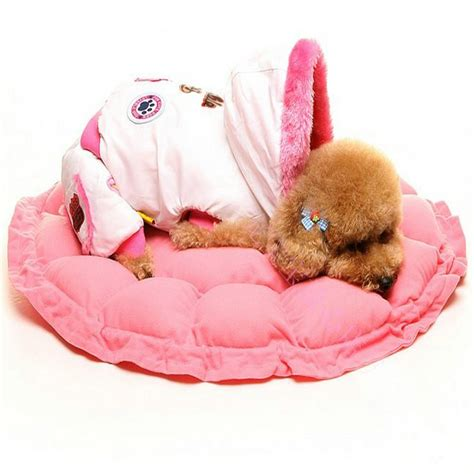 Puppy Pet Bed House L Pink pink kennel cat bed with lace pet house for