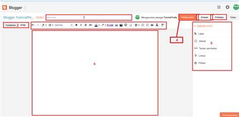 cara membuat artikel pos baru di blog yang benar buatify cara membuat blog di blogger gratis tutorialpedia