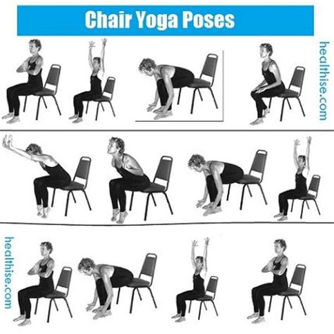 printable chair yoga poses chair yoga sequence pictures to pin on pinterest pinsdaddy