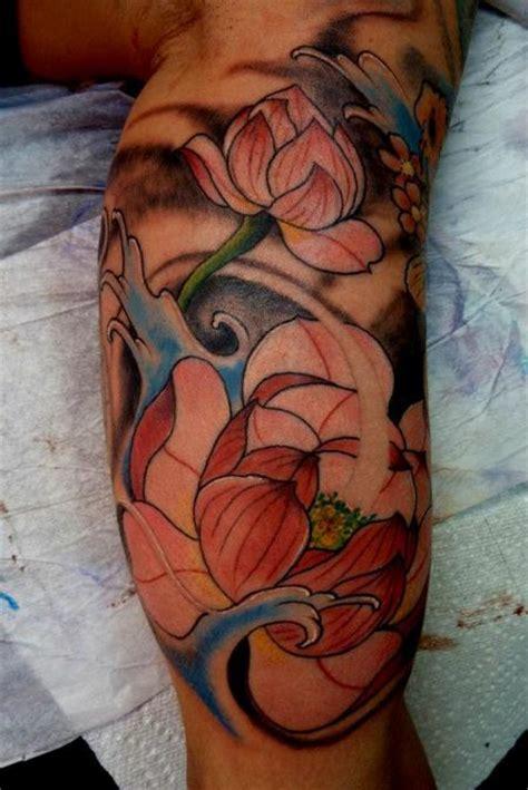 lotus tattoo asian traditonal japanese lotus tattoo by mully tattoonow