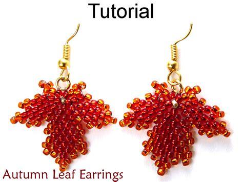 beading tutorial pattern earrings diagonal peyote stitch