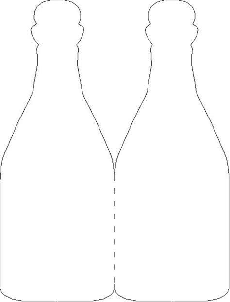 wine bottle template chagne glass template pictures to pin on