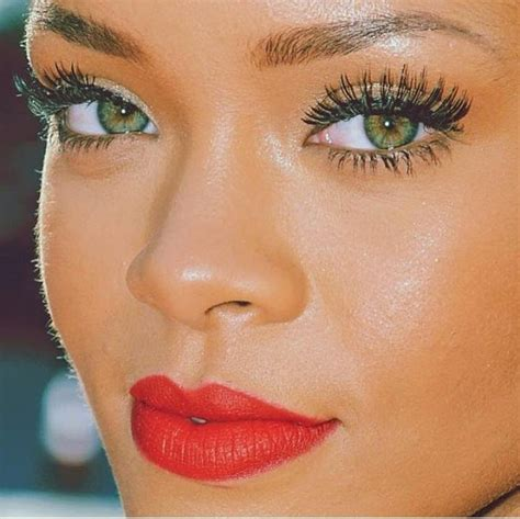 rihanna real eye color is it possible for black to green quora