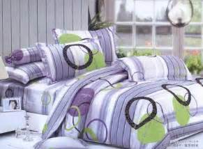 pink circle printing cottonpiece unique bedding